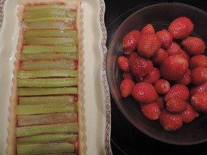Tarte Fraises Rhubarbe10